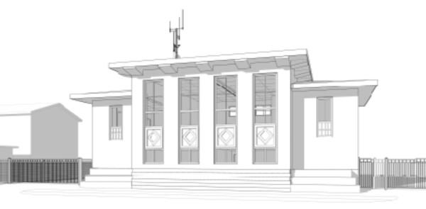 The new EOC (BRW Architects design)