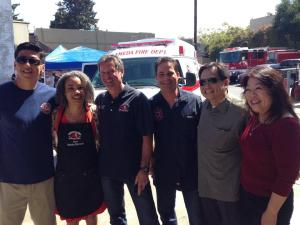 Gilmore, Chen & Tam with IAFF honchos