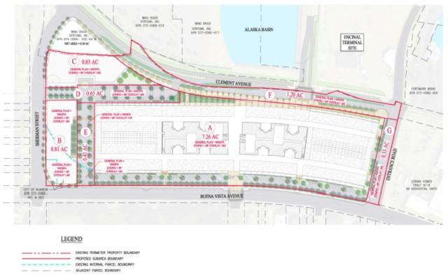 Del Monte site plan