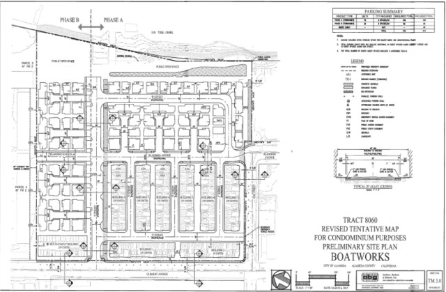 Boatworks site plan