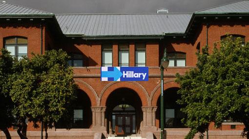 Alameda City Hall - Hillary banner 2