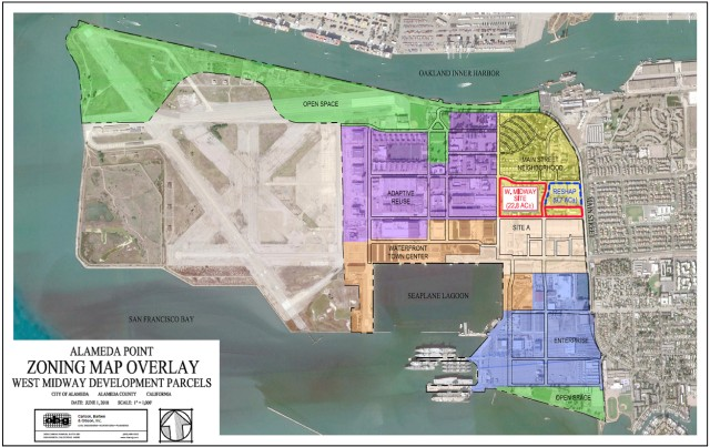 Alameda Point zoning map