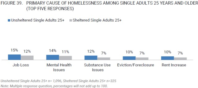 Homelessness Primary Cause - Single Adults