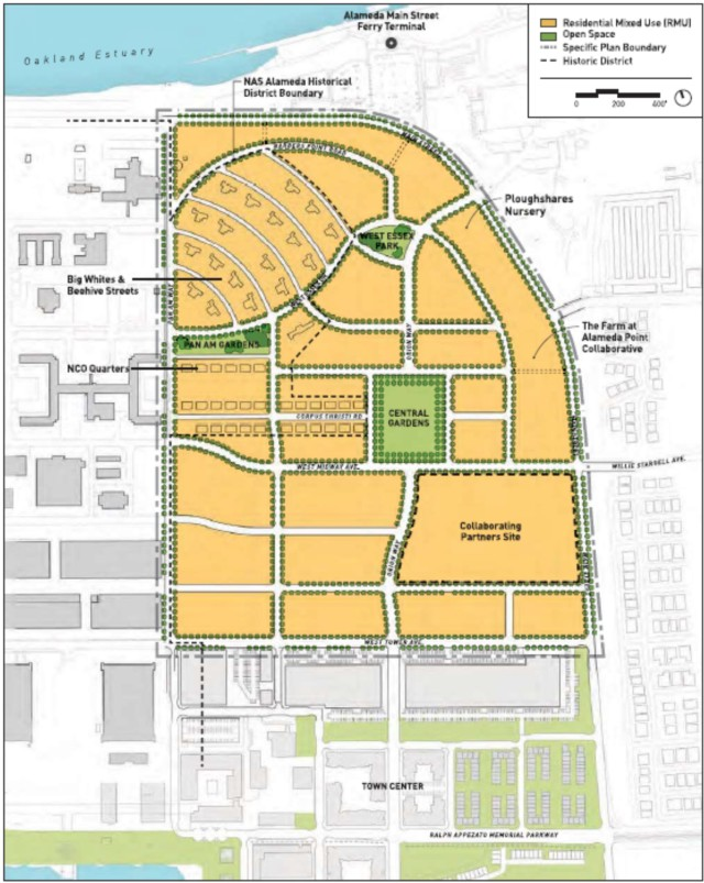 Main Street Neighborhood Land Use Map